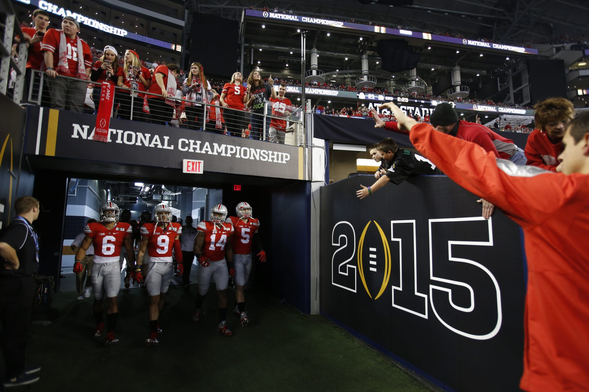 Download College Football Playoff National Championship Background